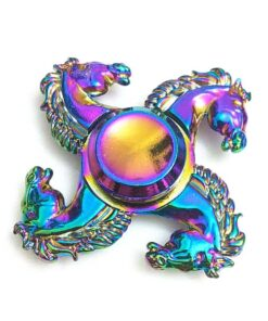 hand spinner cheval arc en ciel