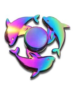 hand spinner dauphin arc en ciel