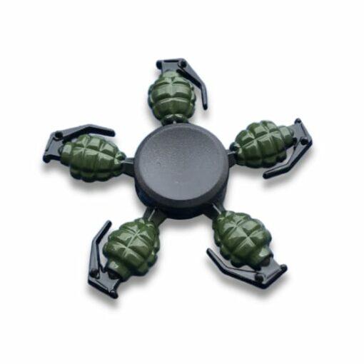 hand spinner grenade