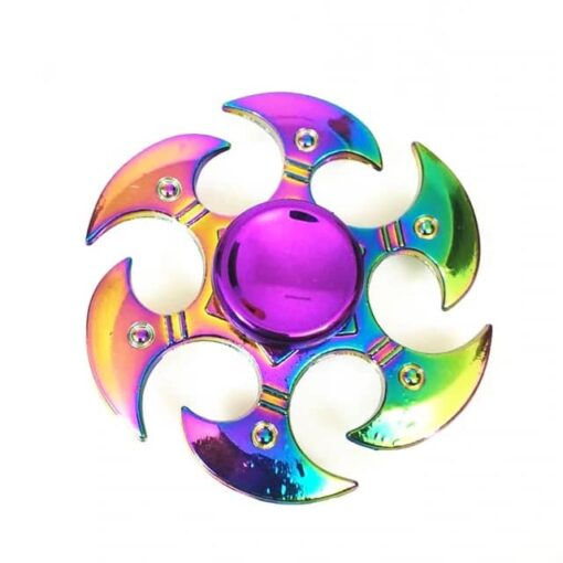 hand spinner lame arc en ciel