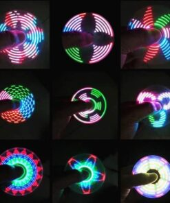 hand spinner led motifs
