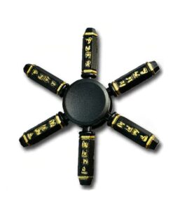 hand spinner shuriken gold