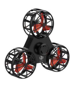 hand spinner volant drone noir
