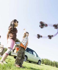 hand spinner volant drone en l'air