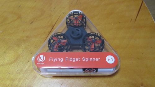 Hand Spinner Volant Drone photo review