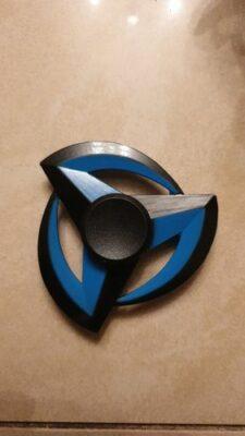 Hand Spinner Shuriken Bleu photo review