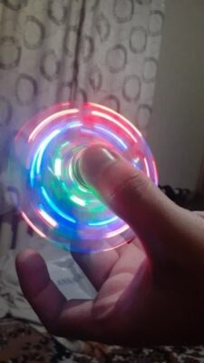 Hand Spinner Lumineux photo review