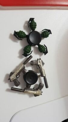 Hand Spinner Pistolet photo review