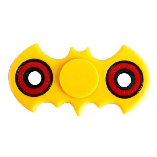 hand spinner batman jaune