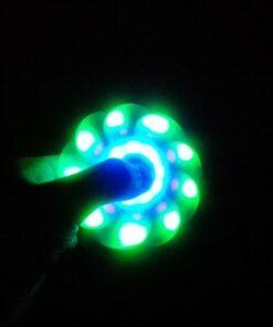 hand spinner bluetooth lumière