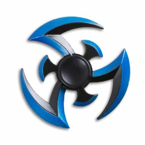 hand spinner sharingan bleu