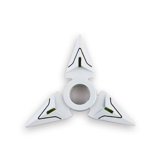 hand spinner shuriken genji blanc