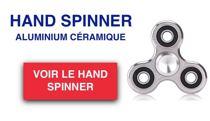 hand spinner aluminium céramique